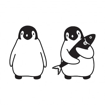 Pinguin-cartoon