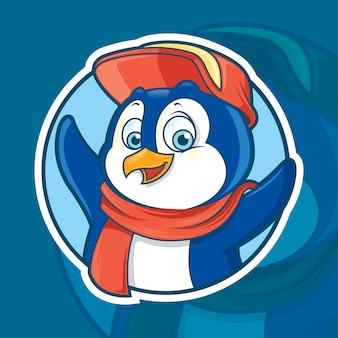Pinguin-maskottchen