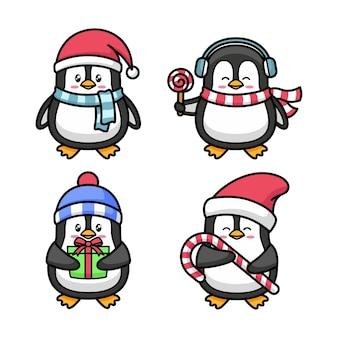 Pinguin-zeichentrickfigur
