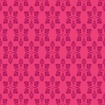 Pink-dekorativer strudel-hintergrund mit aubergine