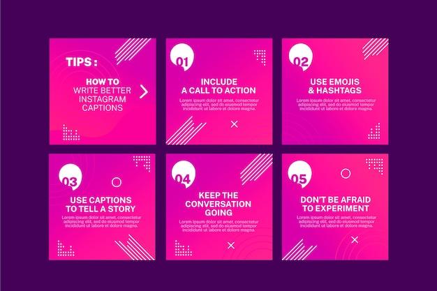 Pink tips instagram beitragssammlung