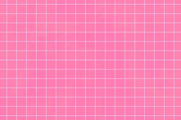 Pinkfarbener ästhetischer gittermusterhintergrund