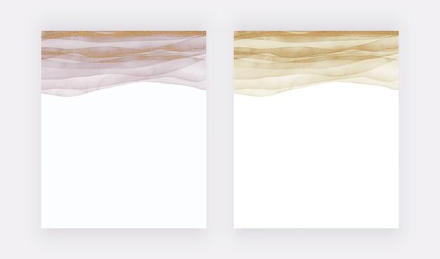 Pinselstrich aquarellillustration