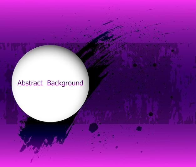 Pinselstrich und textur. banner für design.vector illustration