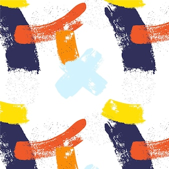 Pinselstrichmuster des abstrakten stils