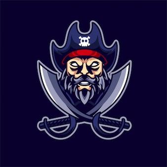 Pirate esport gaming-logo