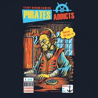 Piraten süchtige