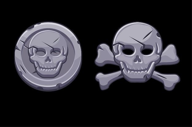 Piratenschädel von piedra
