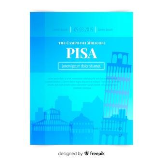 Pisa flyer vorlage