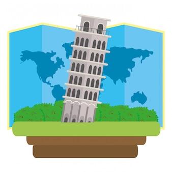 Pisa-turm-symbol