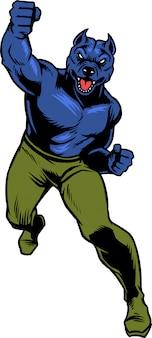 Pitbull power punch
