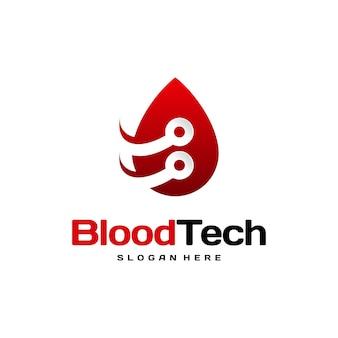 Pix blood technology logo entwirft konzeptvektor, blood healthcare logo entwirft vorlage, blood donor