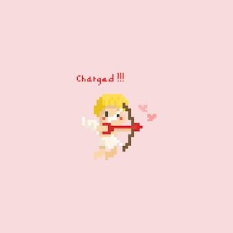 Pixel-amor mit pfeil