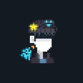 Pixel-art-cartoon-hexe-charakter-avatar-symbol