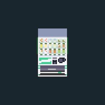 Pixel art softdrink-verkaufsautomat.