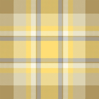 Pixel hintergrund design. modernes nahtloses musterplaid. quadratischer texturstoff. tartan schottisches textil. schönheitsfarbe madras ornament.