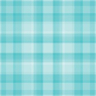 Pixel hintergrund design. modernes nahtloses musterplaid. quadratischer texturstoff.