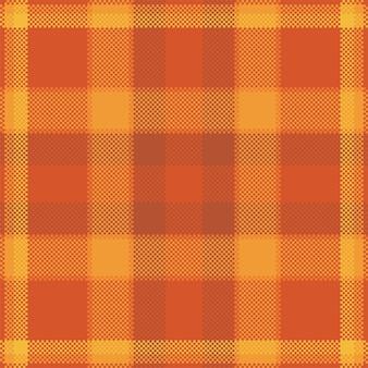 Pixel-hintergrund-vektor-design. modernes nahtloses muster kariert. stoff mit quadratischer textur. schottisches tartan-textil. schönheit farbe madras ornament.