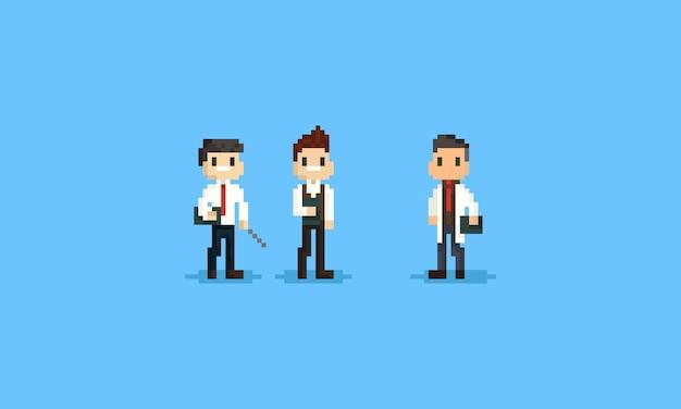Pixel männlicher lehrer
