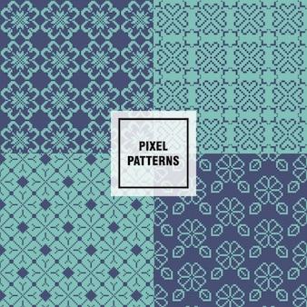Pixel-muster sammlung