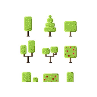 Pixel würfel baumsatz