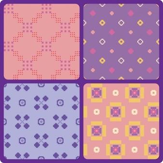Pixelated pattern set
