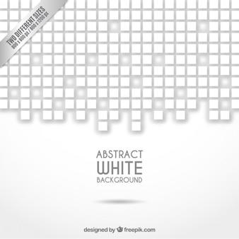 Pixeled abstrakten weißen hintergrund