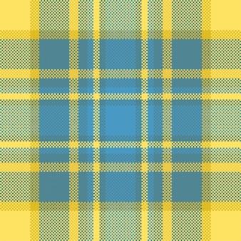 Pixelhintergrund. modernes nahtloses musterplaid. quadratischer texturstoff. tartan schottisches textil. schönheitsfarbe madras ornament.