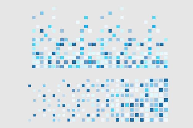 Pixelmosaik pixelzerfall abbildung fallende pixel abstrakter hintergrund