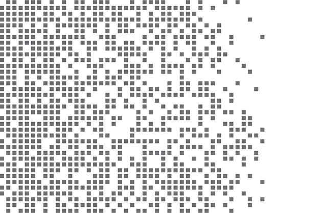 Pixelmosaik pixelzerfall illustration fallende pixel abstrakter hintergrund