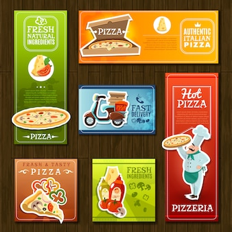 Pizza-banner-set