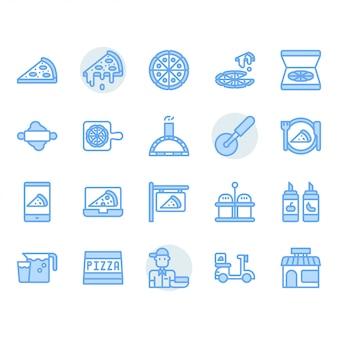 Pizza-icon-set