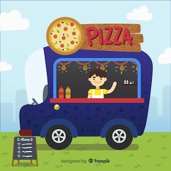 Pizza-lkw