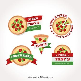 Pizza-logo-kollektion