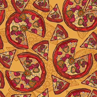 Pizza-musterentwurf