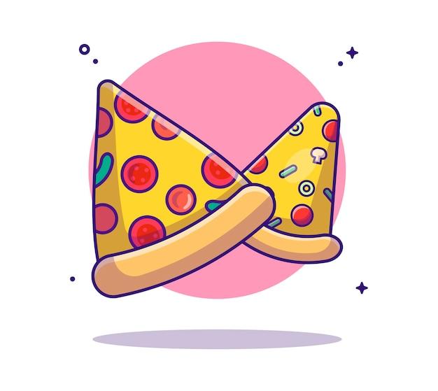 Pizza-sammlungcartoon