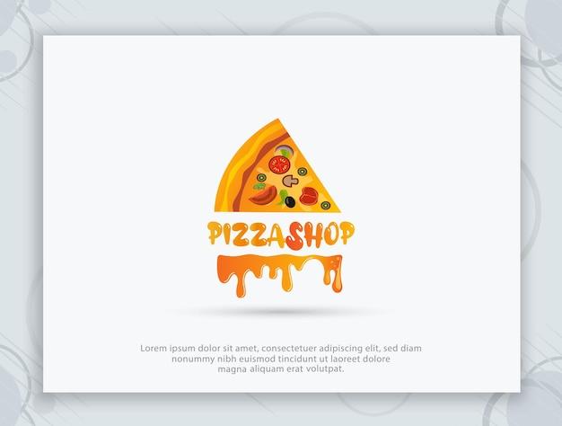 Pizzahaus vektor-logo-design