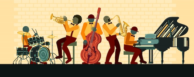 Plakat am jazztag am 30. april