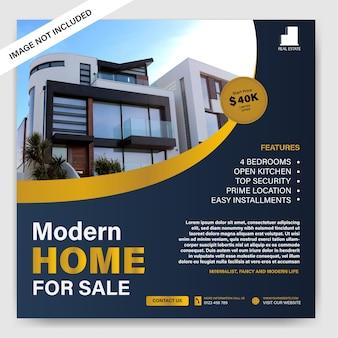 Plakat der immobilienagentur