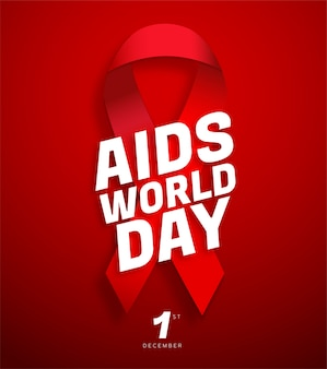Plakat zum welt-aids-tag