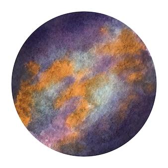 Planeten aquarell