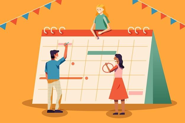 Planung und zeitmanagement