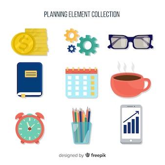 Planungselement-sammlung