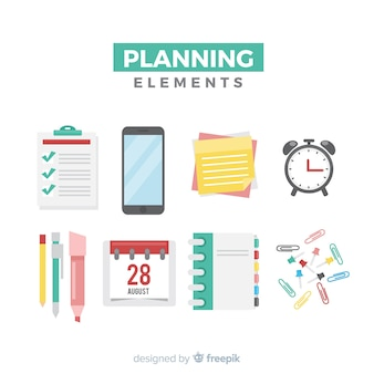Planungselemente festgelegt