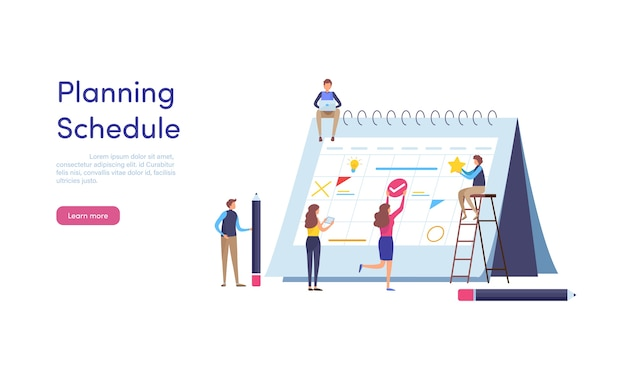 Planungszeitplan