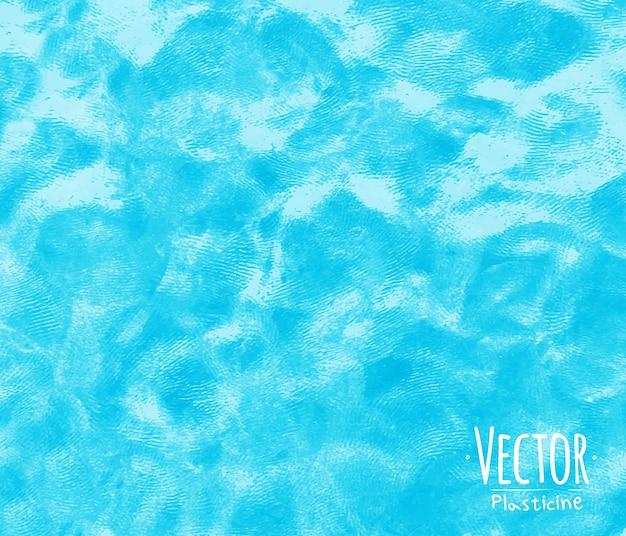 Plastilin-hintergrund blau