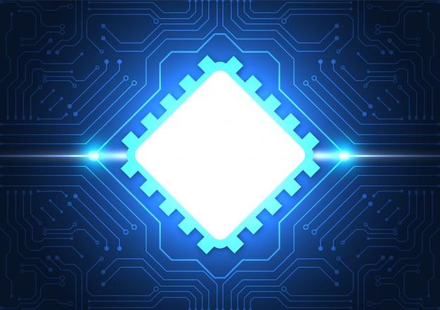 Platine technologie hintergrund