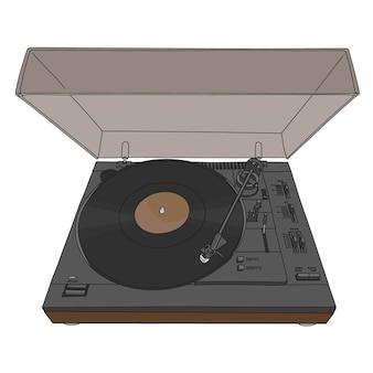 Plattenspieler-vinylscheiben