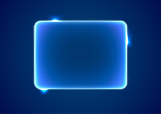 Platzhalter für abstraktes blaues rechteck