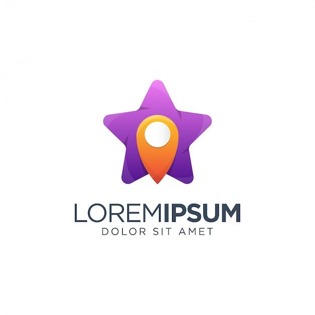 Platzieren sie logo-design